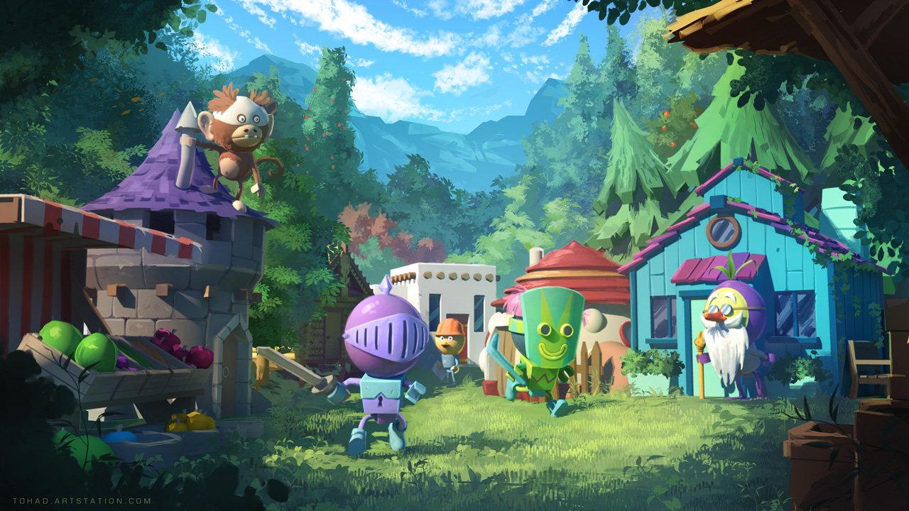 Video game Concept Art