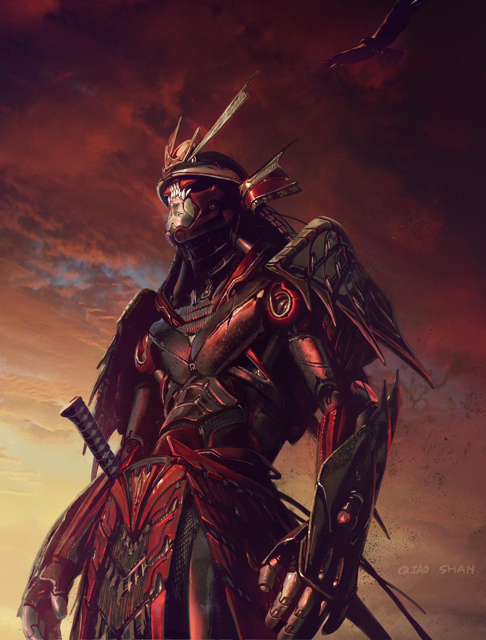 Shan qiao samurai hawk