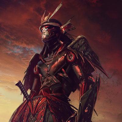 samurai rendering 2