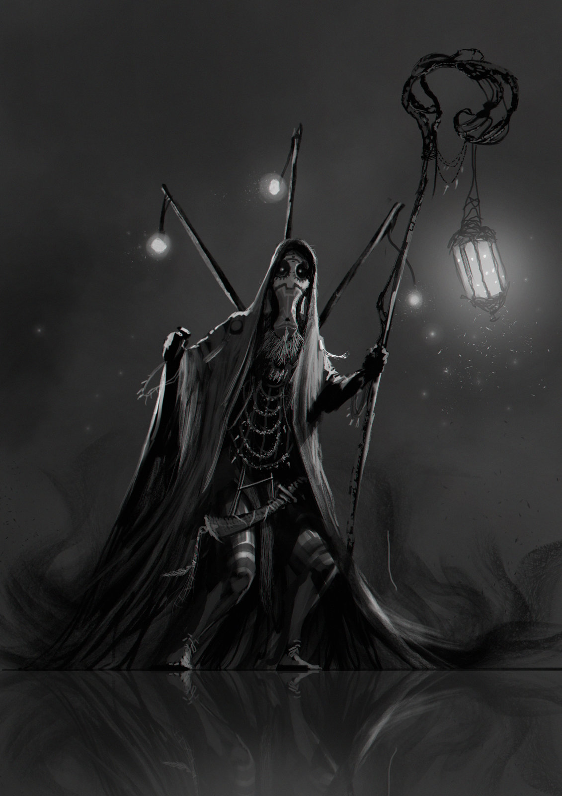 """Shaman of Darkness"" with timelapse."