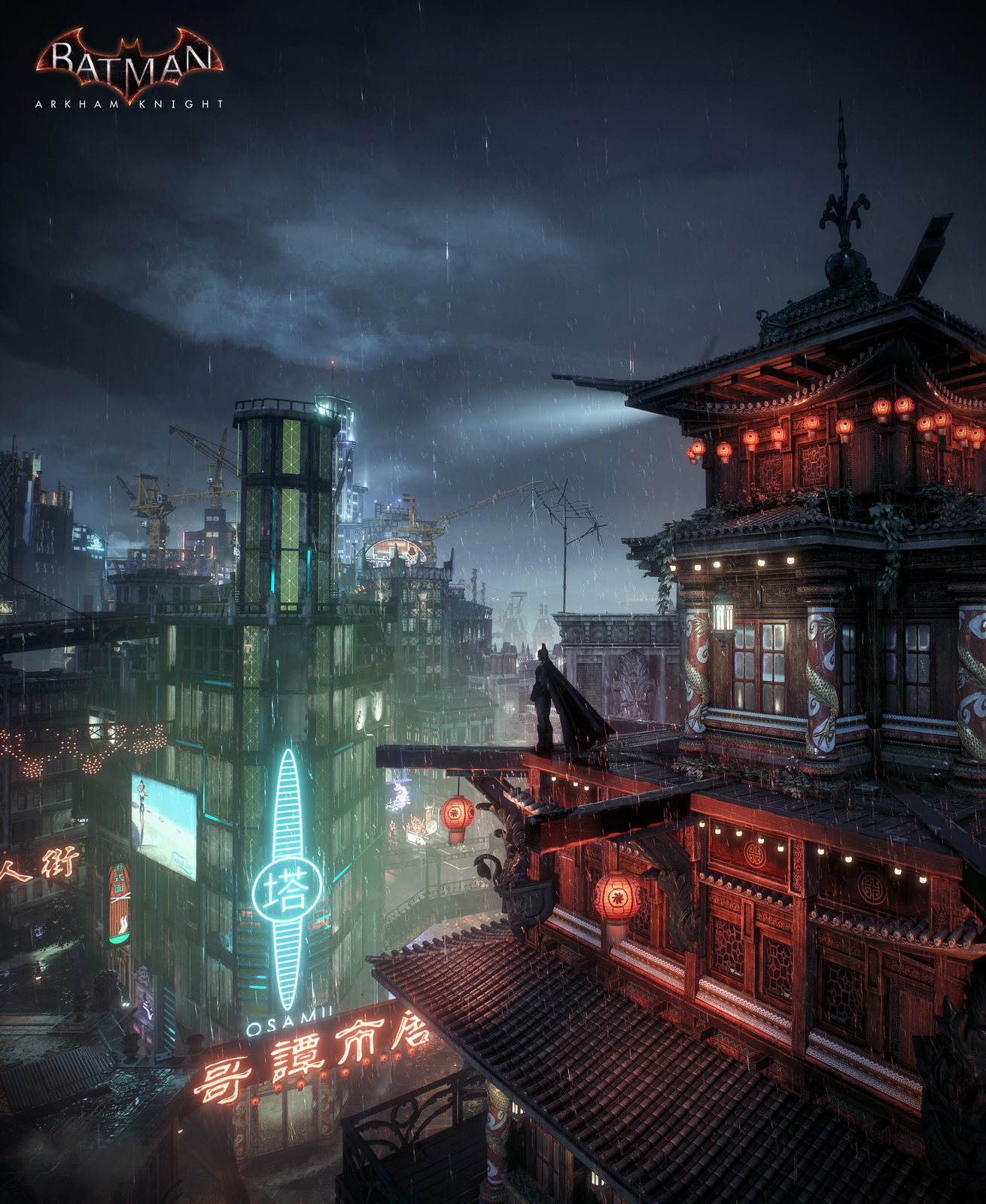 Batman Arkham Knight - Chinatown