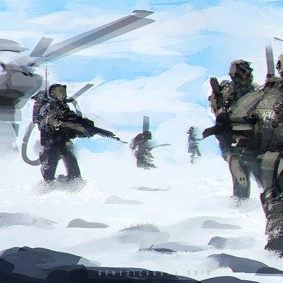 Benedick bana snow patrol lores