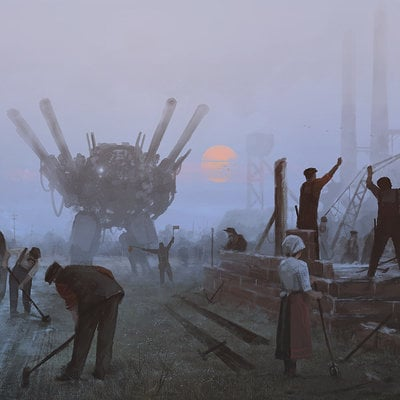 Jakub rozalski long day1