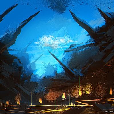 Benedick bana underground lair lores