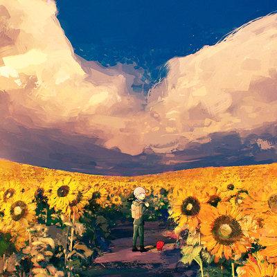 Yuya takeda sunflower