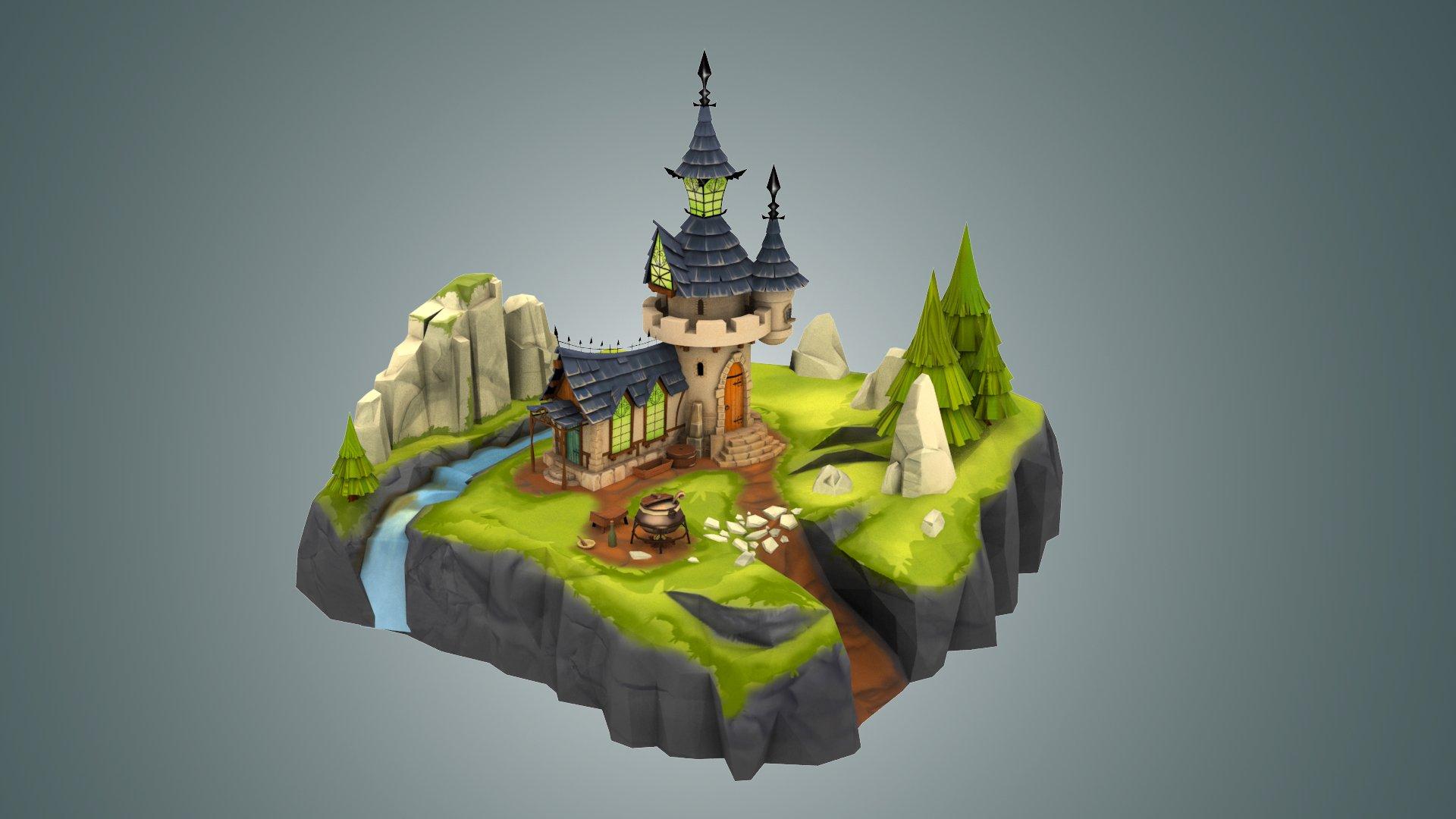 Vlada voronova render castle