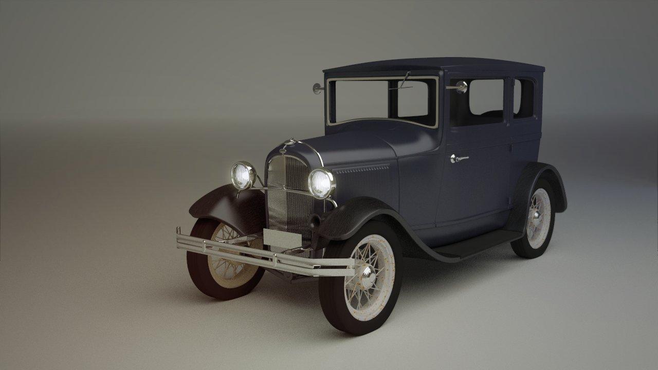 Jonas prunskus 1932 ford model b