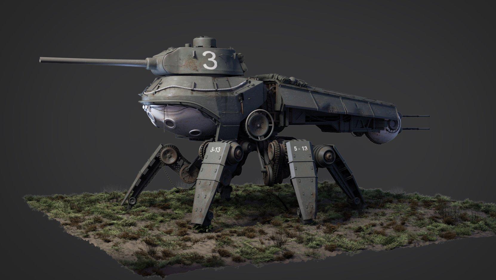 Jonas prunskus t34 tank mech