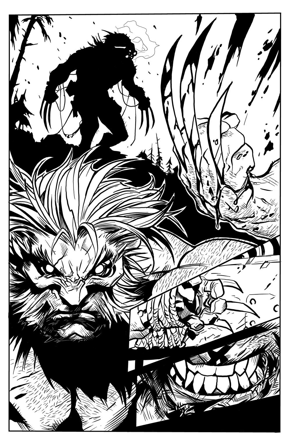 Matt james joe mad savage wolverine sequential sample 2 by mattjamescomicarts d82mv62