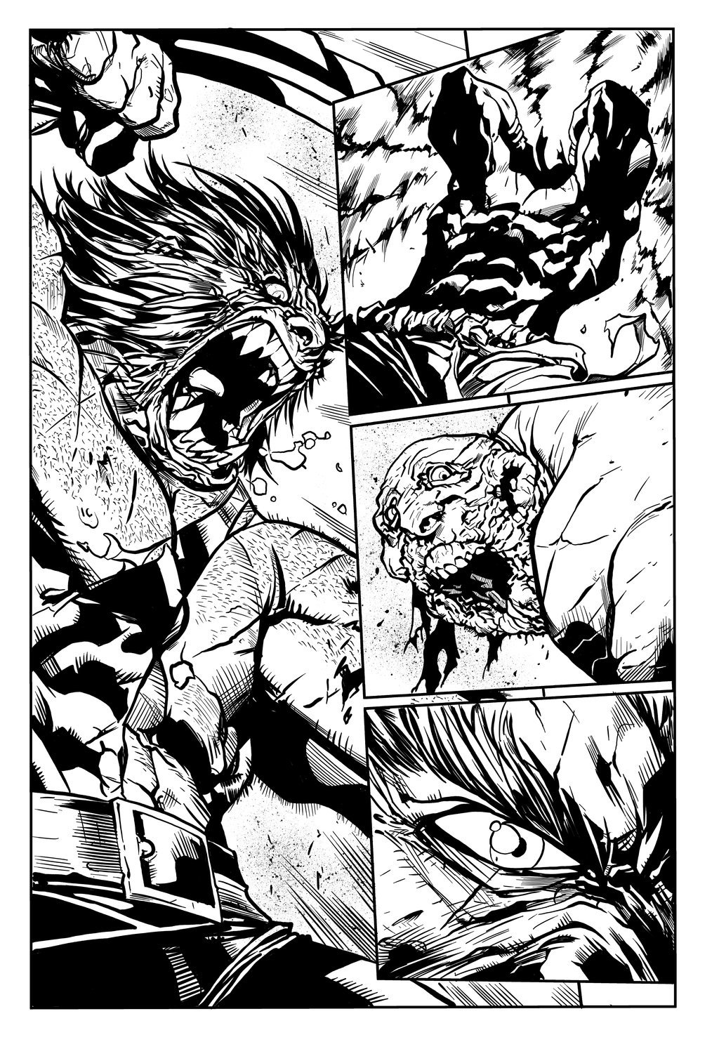 Matt james joe mad savage wolverine sequential sample 1 by mattjamescomicarts d82mv4c