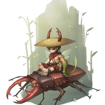 Michelle ran bugmaster