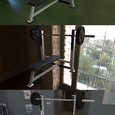 Daniel rose weightbench lightingcompare