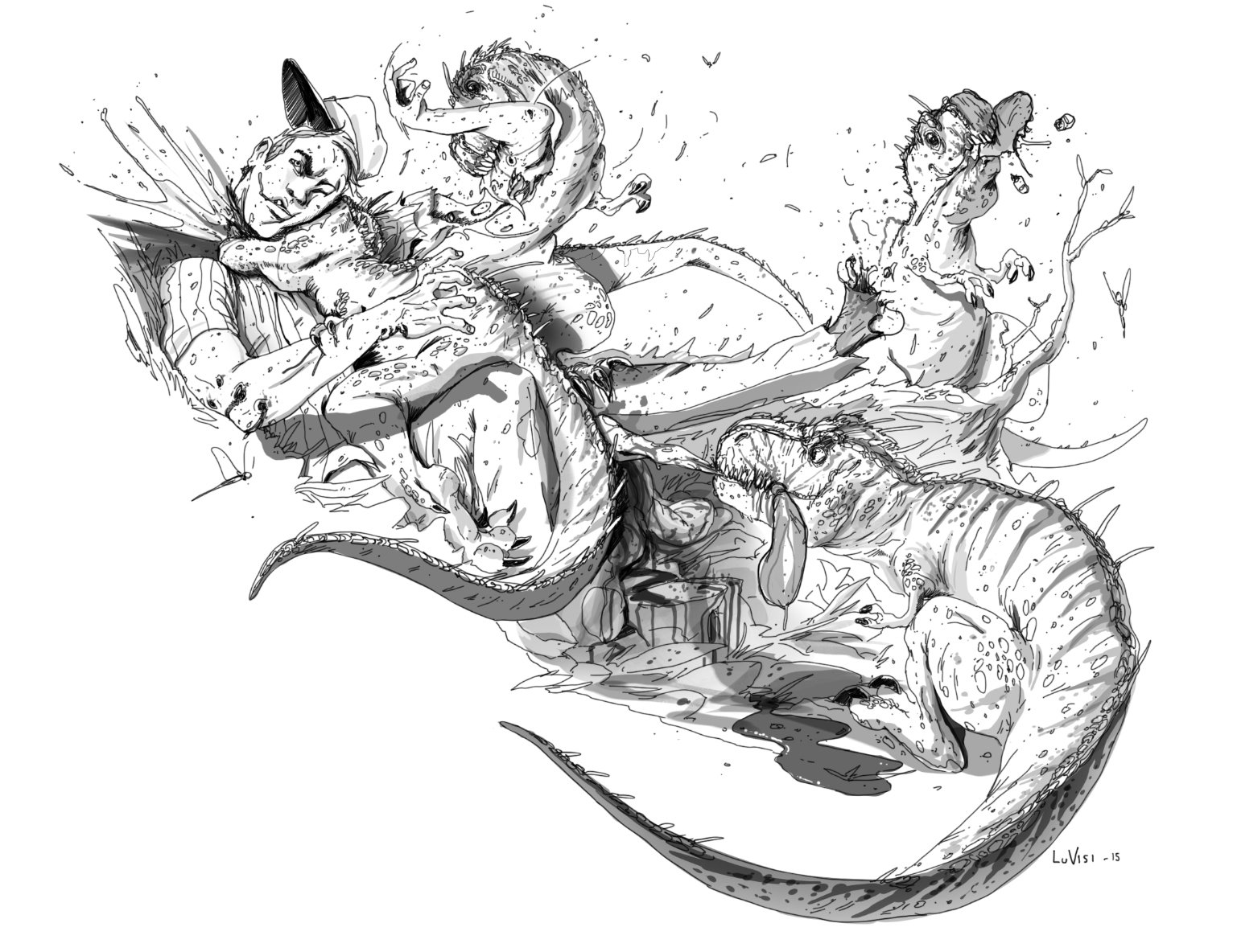Dan luvisi dinosaurrex