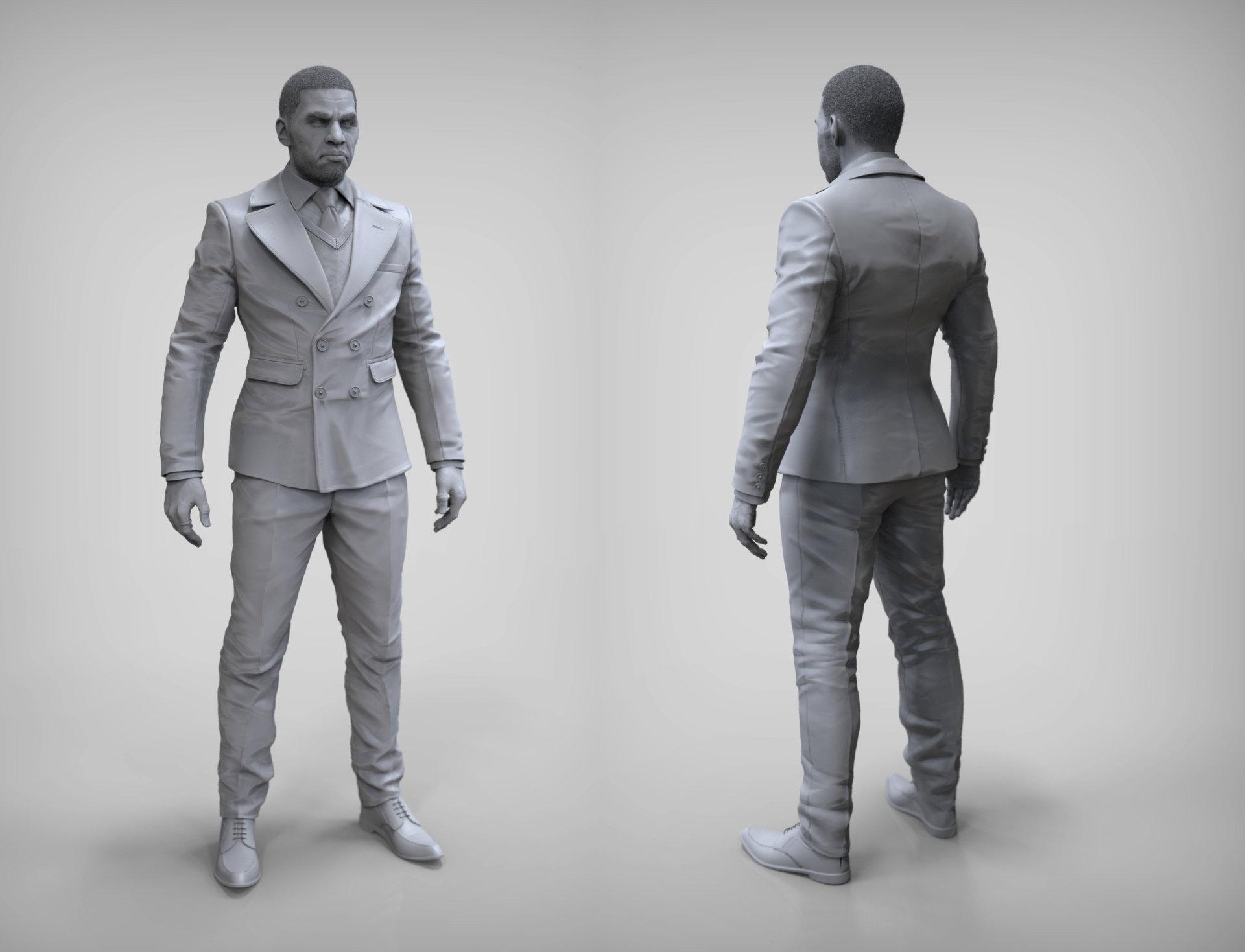 J mark suit turngrey