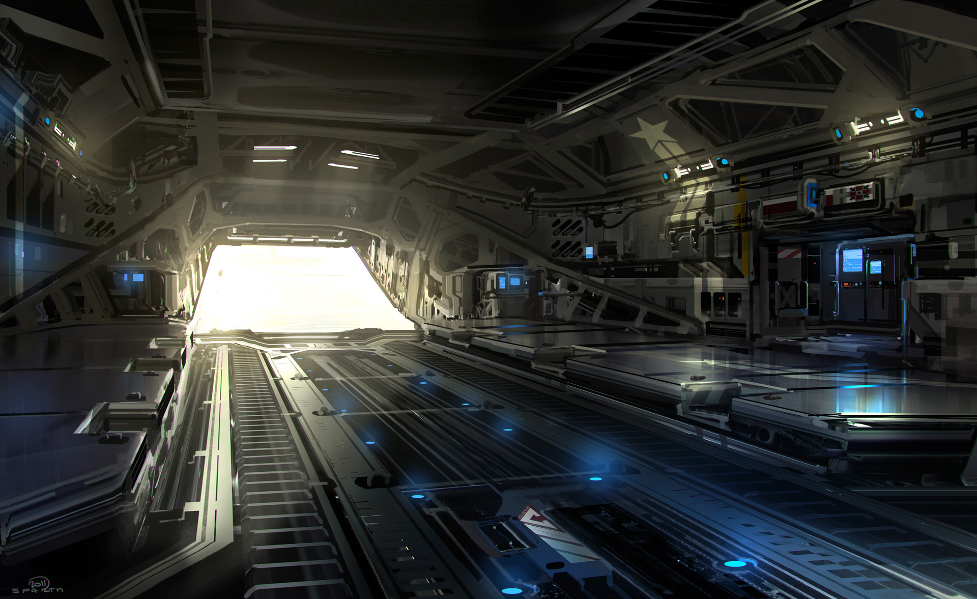 Sparth sparth halo4 mamoth interior