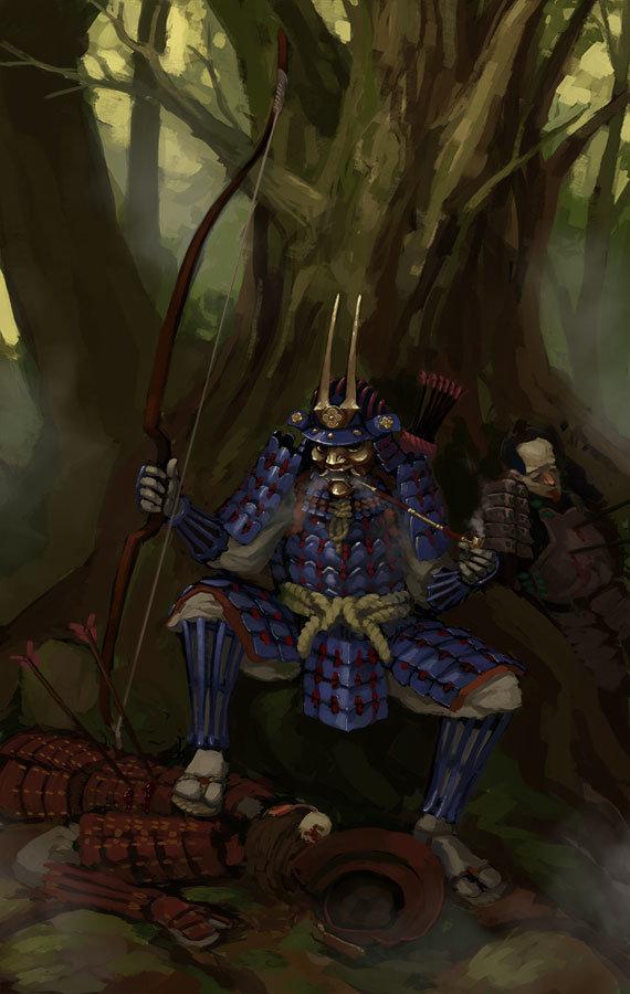Greeme doe 045 samurai