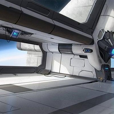 Thomas wievegg spacestation concept