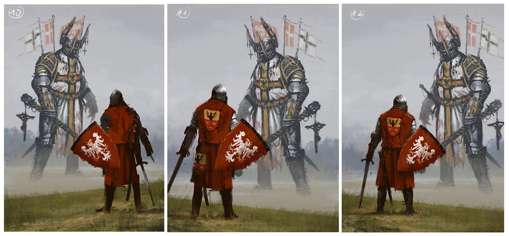 Jakub rozalski 1410 process 04