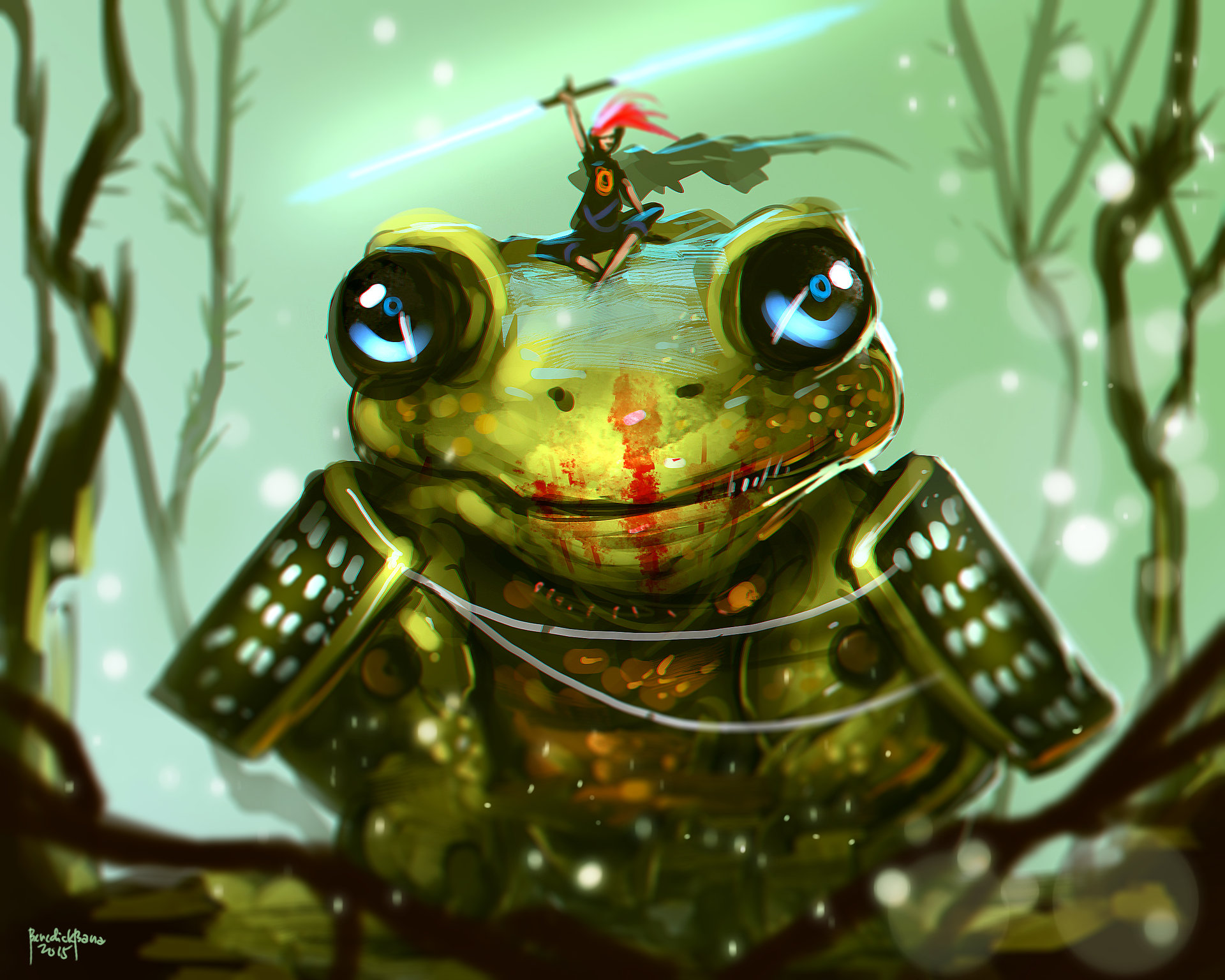 Benedick bana frog and the prince final