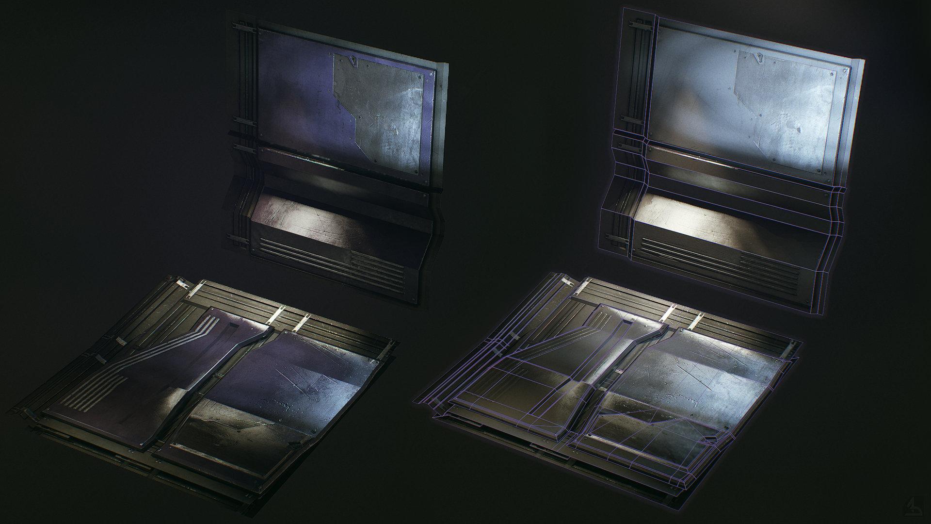 Alexei dmitriev doodle couloir screen modules