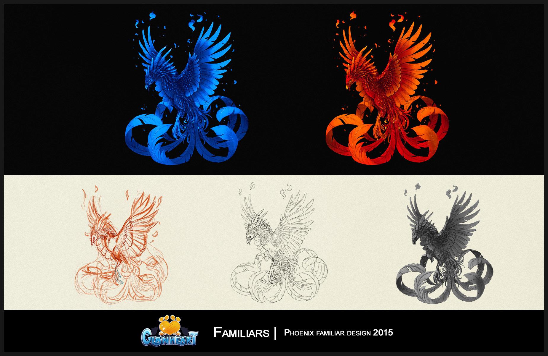 Maricela ugarte clanheart design phoenix