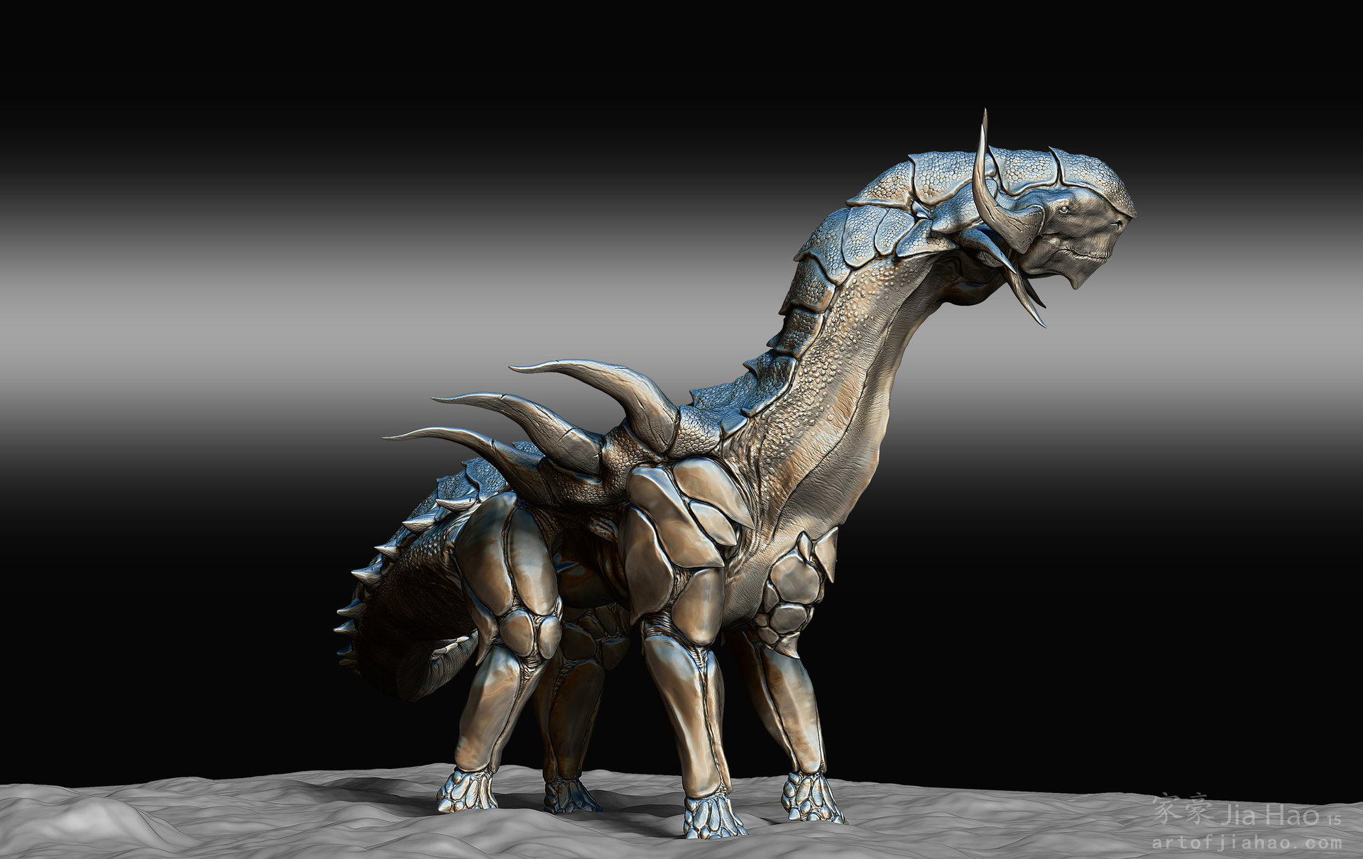 Jia hao 2015 08 dino designpresentations sculpt 05