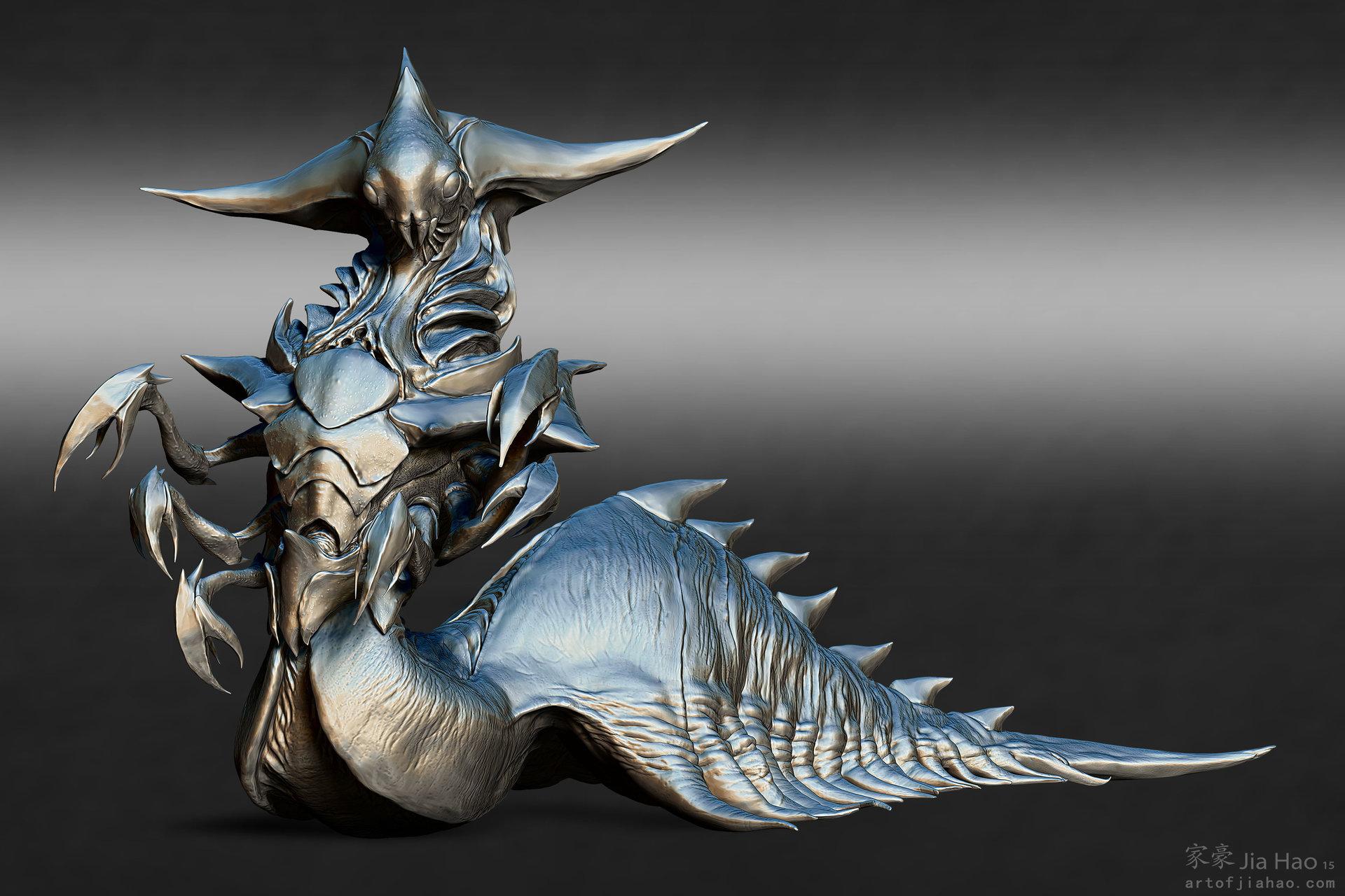 Jia hao 2015 09 insectqueen designpresentations sculpt 01
