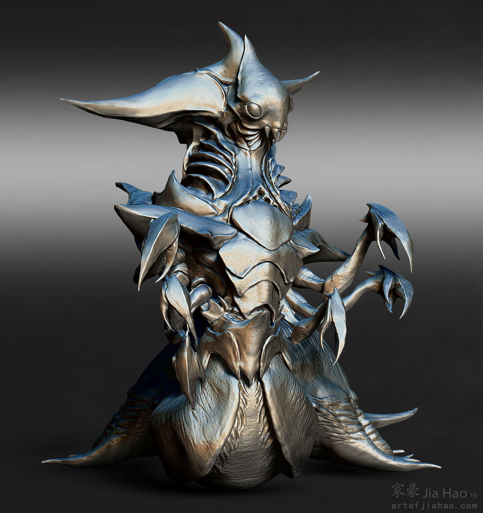 Jia hao 2015 09 insectqueen designpresentations sculpt 03