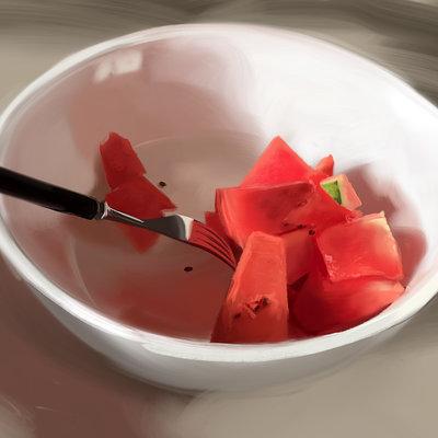 Guenter zimmermann melone schuessel 02