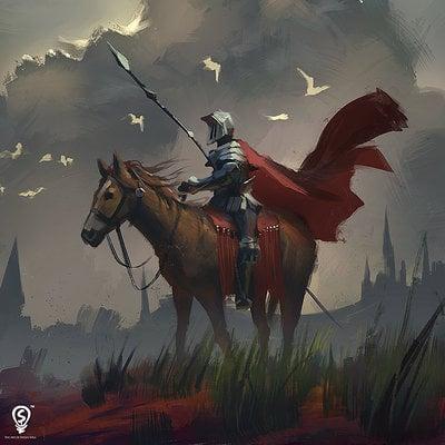 Bryan sola horseman sketch