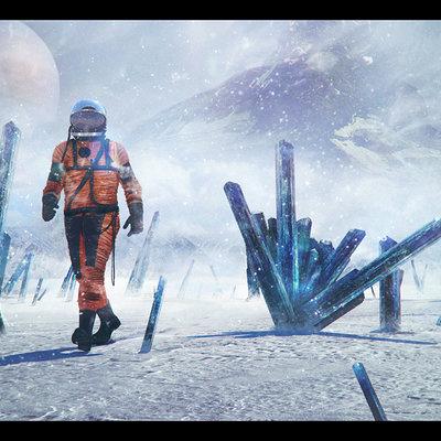 Dmitry bogoljubov walking astronaut
