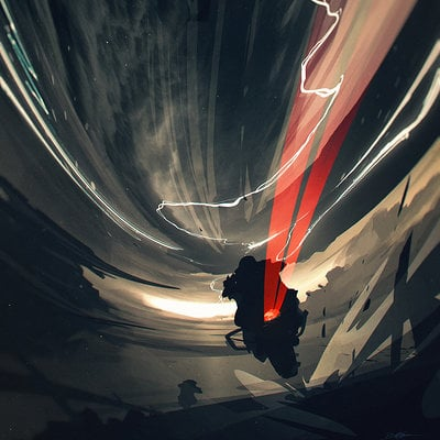 Bastien grivet riders in the storm
