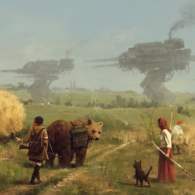 Jakub rozalski harvest advantage new small