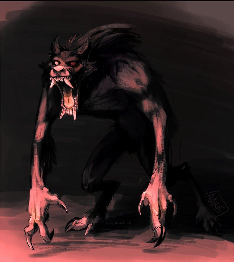 Amanda kadatz 20150426 werewolf sketchpaint