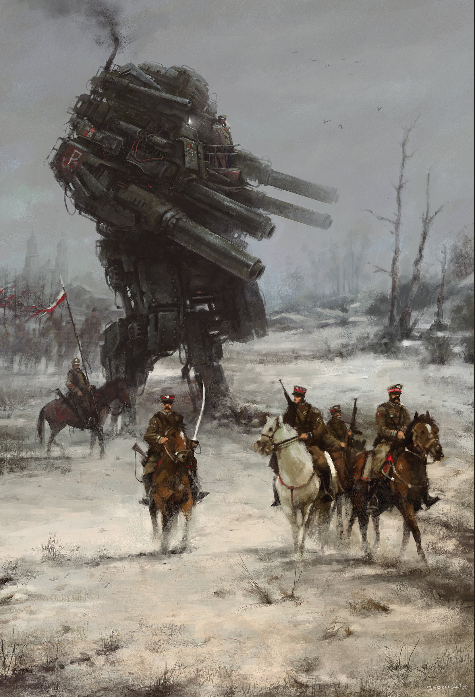 Jakub rozalski 1920 warlord jr70na1002s