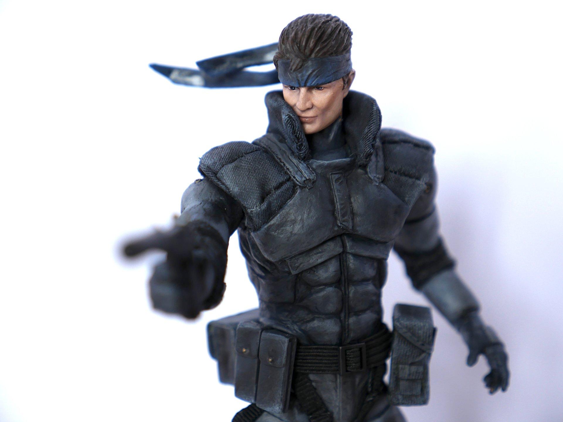 Artstation Metal Gear Solid 6 Solid Snake Wedding Cake