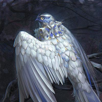 Tatiana kirgetova white bird3