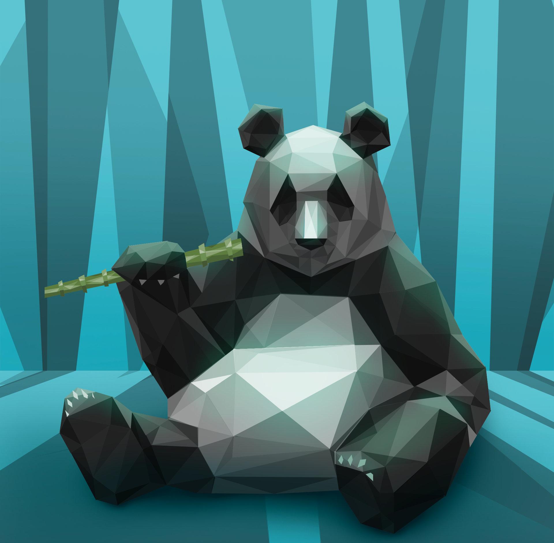 Yana blyzniuk poly panda