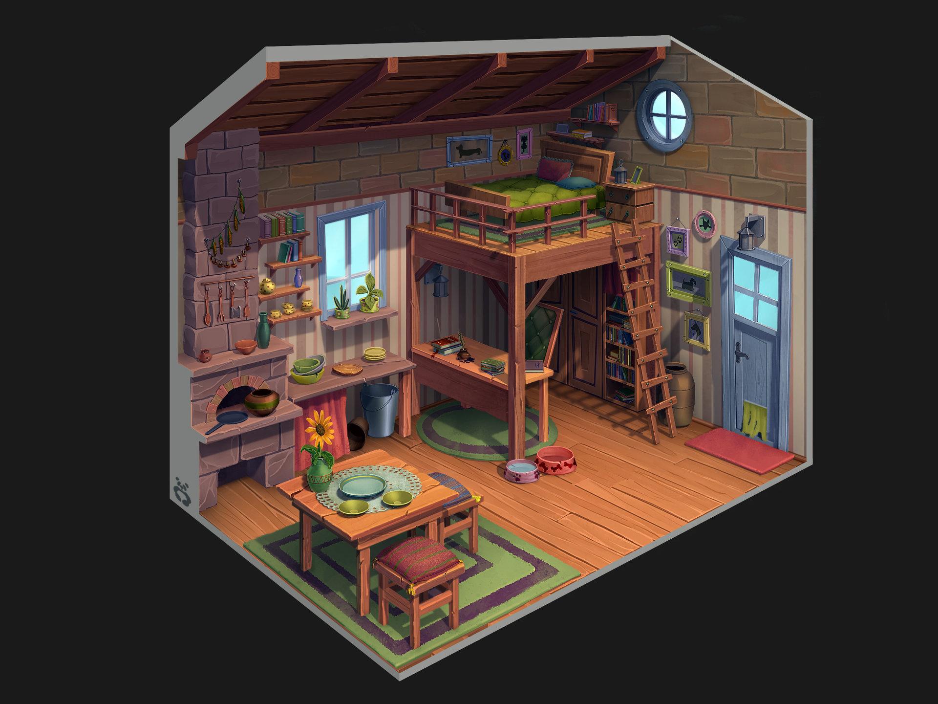 Yana blyzniuk house interior final