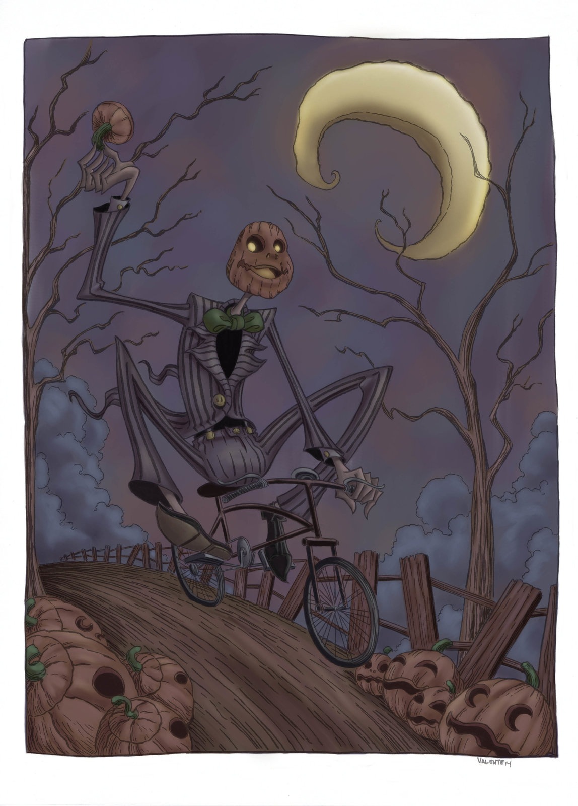 A Ride Through the Pumpkin Patch