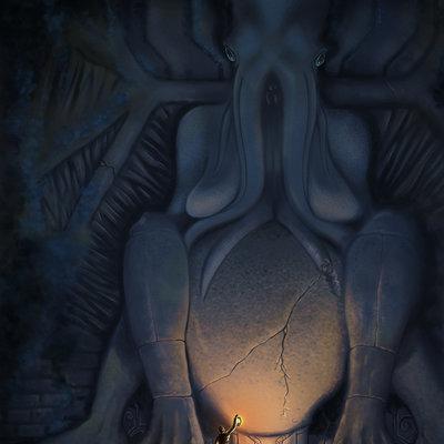 Daniel hidalgo vicente cthulhu statue