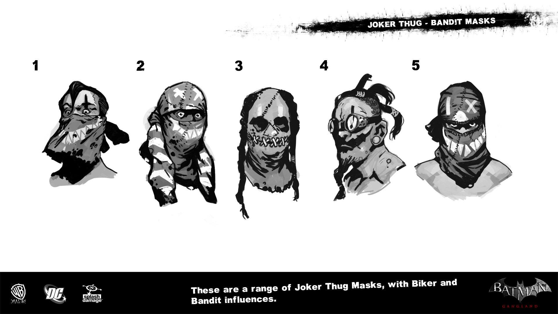 Manuel augusto dischinger moura splashdamage joker thug bandit masks