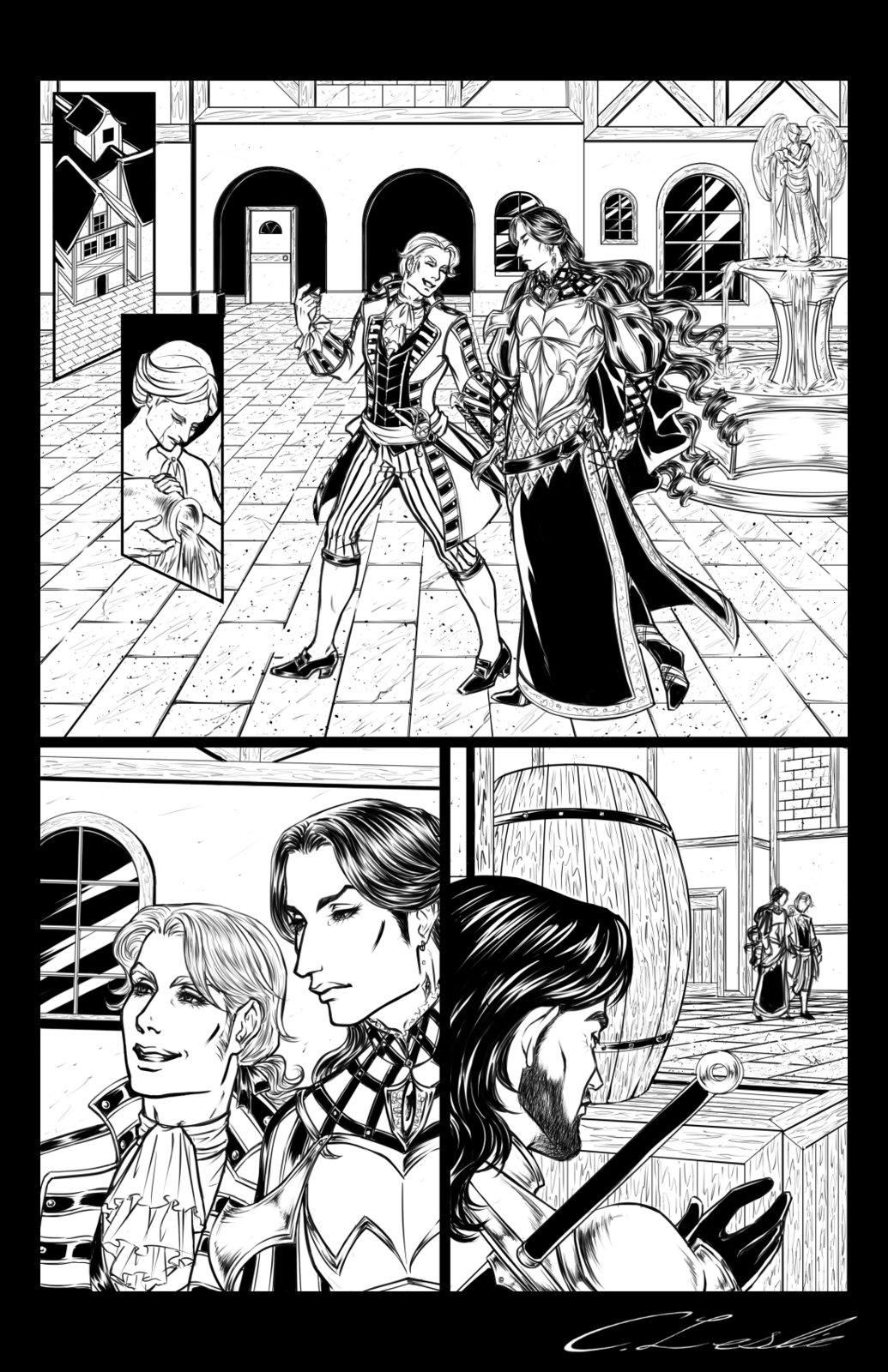Ambush Scene: Page 1