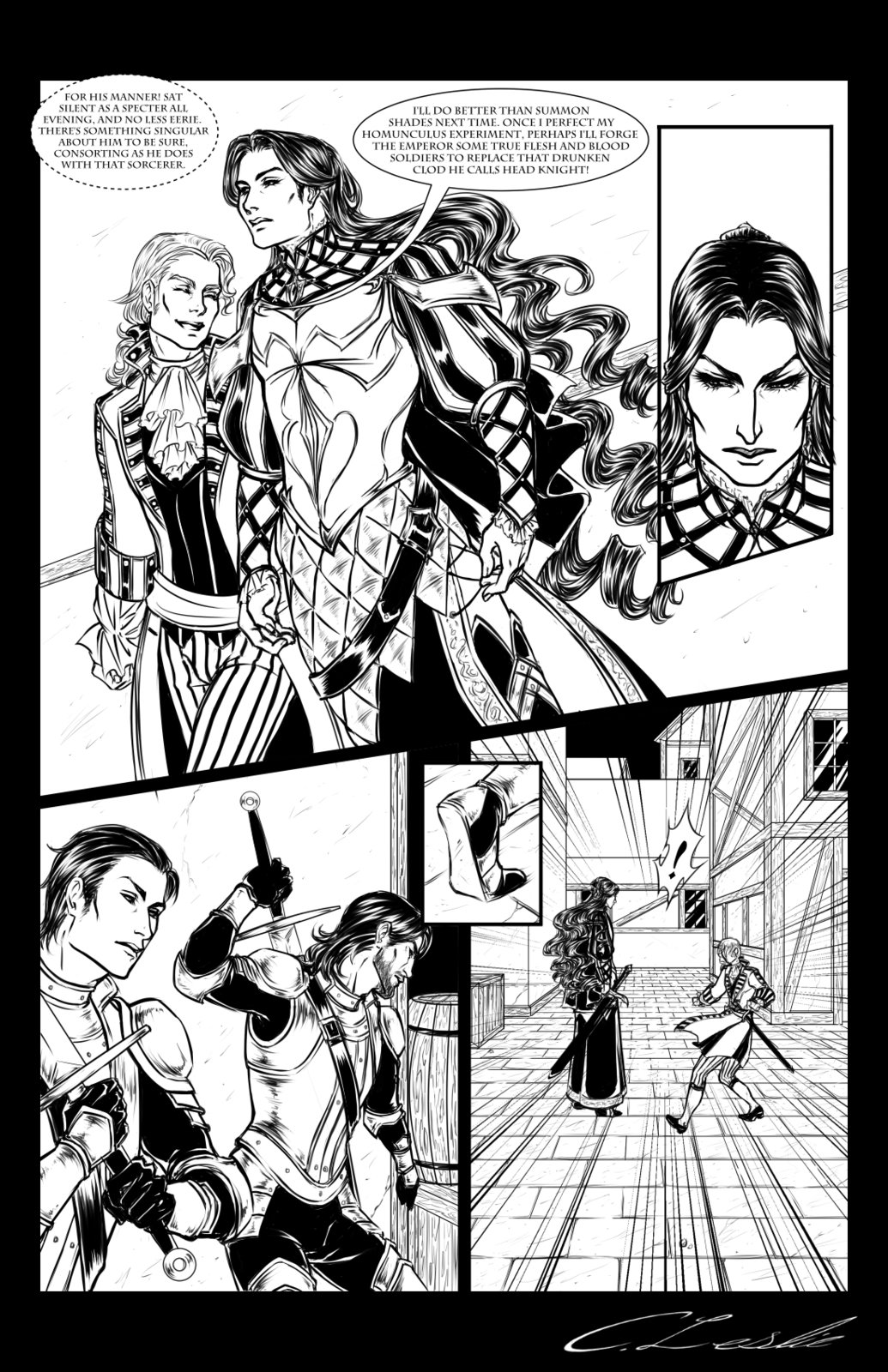 Ambush Scene: Page 3