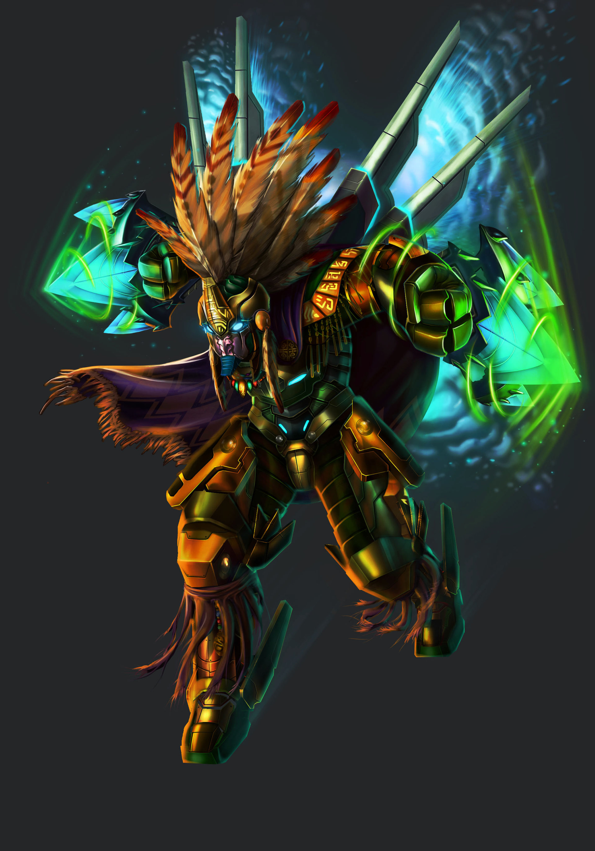 Jazz siy awaken sky warrior render v2x
