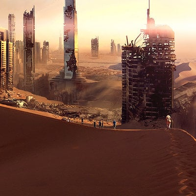 Maze Runner: Scorch Trials Concept Art