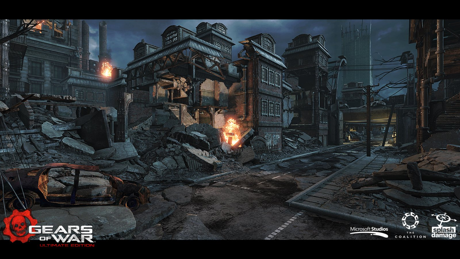 Viaducts - Some examples of my collapsed rubble assets being used.
