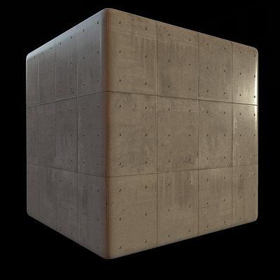Sergi lluch concrete wall mat