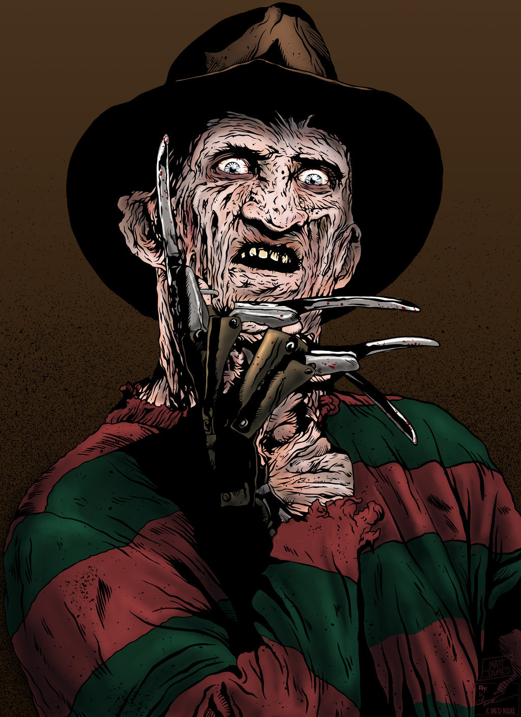 Matt james freddy kruger by outlaw68 d6slkz9