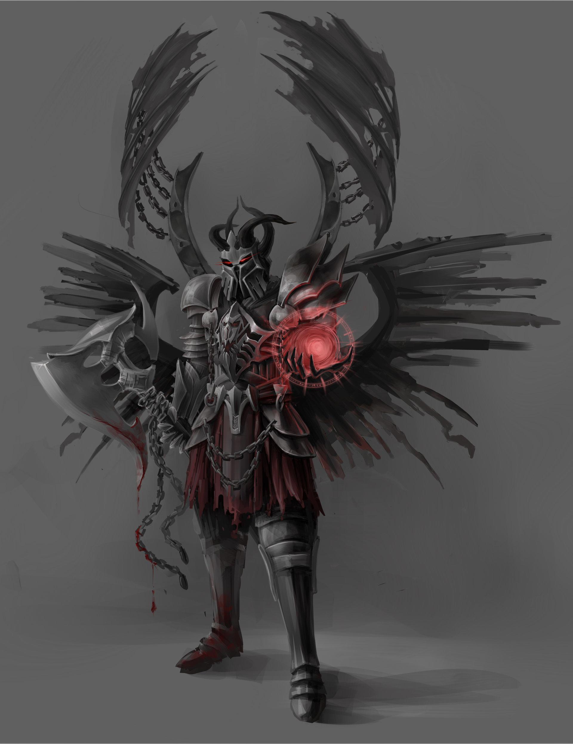 Olga Morozova Concept Art Demon